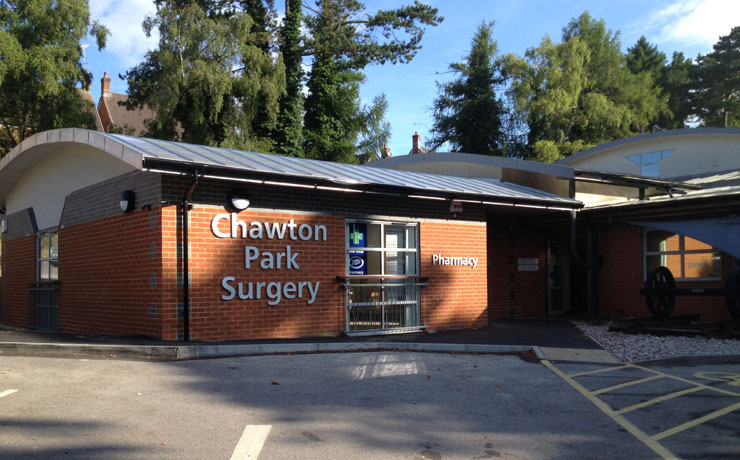 http://www.rhbpartnership.co.uk/projects/healthcare/chawton-park-surgery